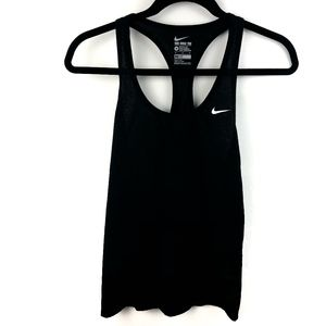 Nike Black Racer Back Dri Fit Swoosh